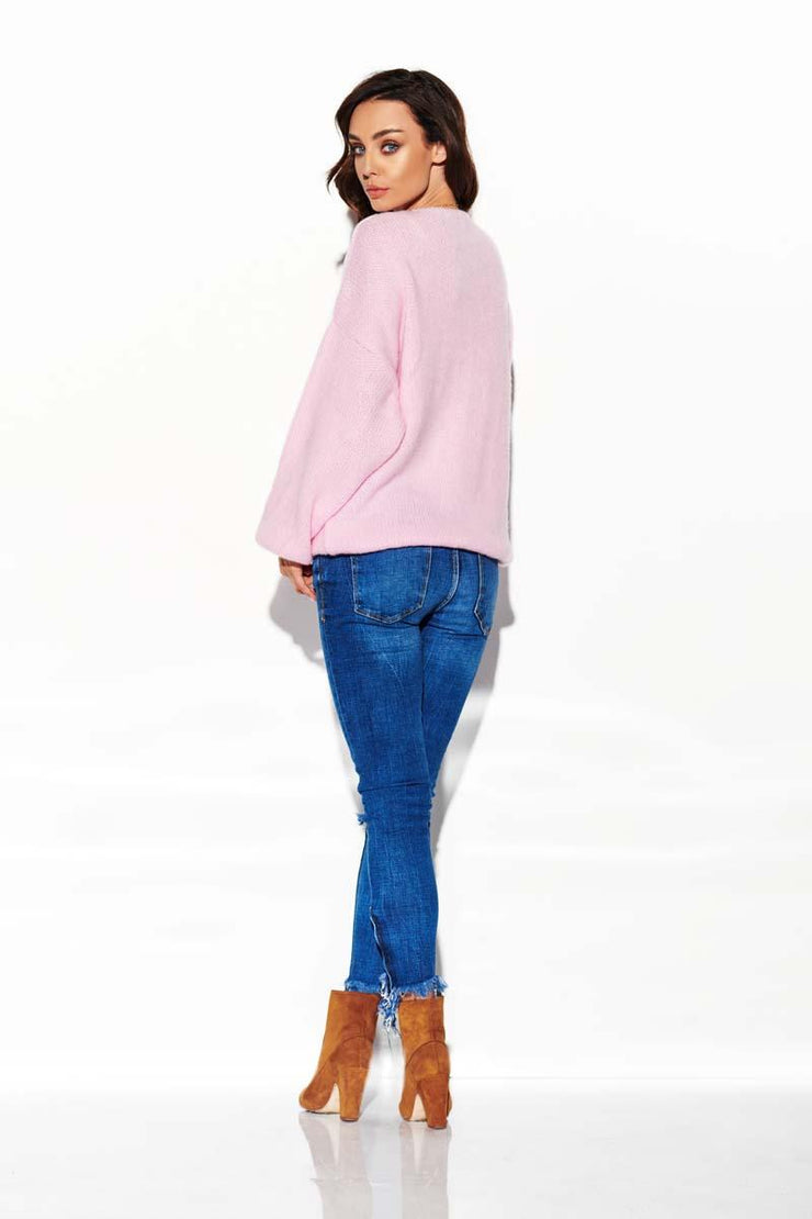 women-jacket-and-coatsLight Pink Sweaters - Eli-ellas