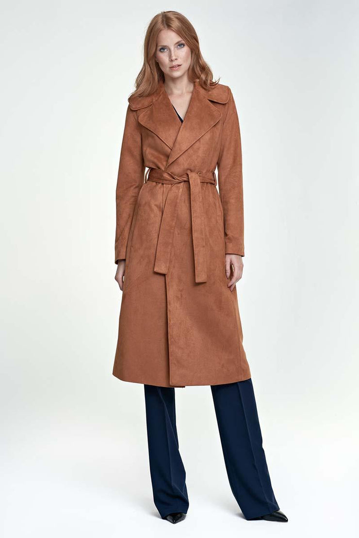 women-jacket-and-coatsBrown Nife Jackets & Coats - Eli-ellas