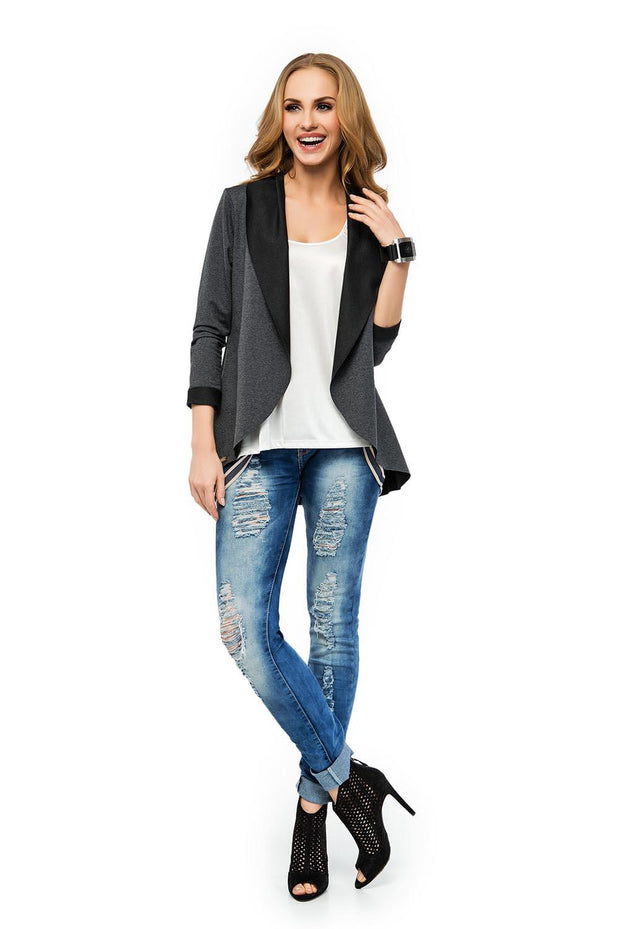 women-jacket-and-coatsGraphite Makadamia Blazers - Eli-ellas