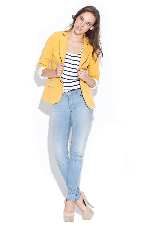 women-jacket-and-coatsMustard Katrus Blazers - Eli-ellas