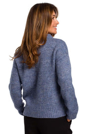 women-jacket-and-coatsBlue MOE Sweaters - Eli-ellas