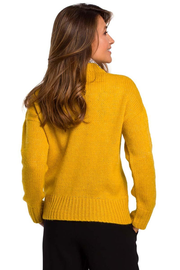 women-jacket-and-coatsYellow MOE Sweaters - Eli-ellas