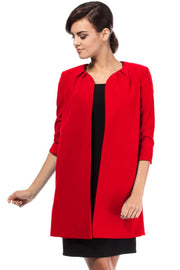 women-jacket-and-coatsRed MOE Blazers - Eli-ellas