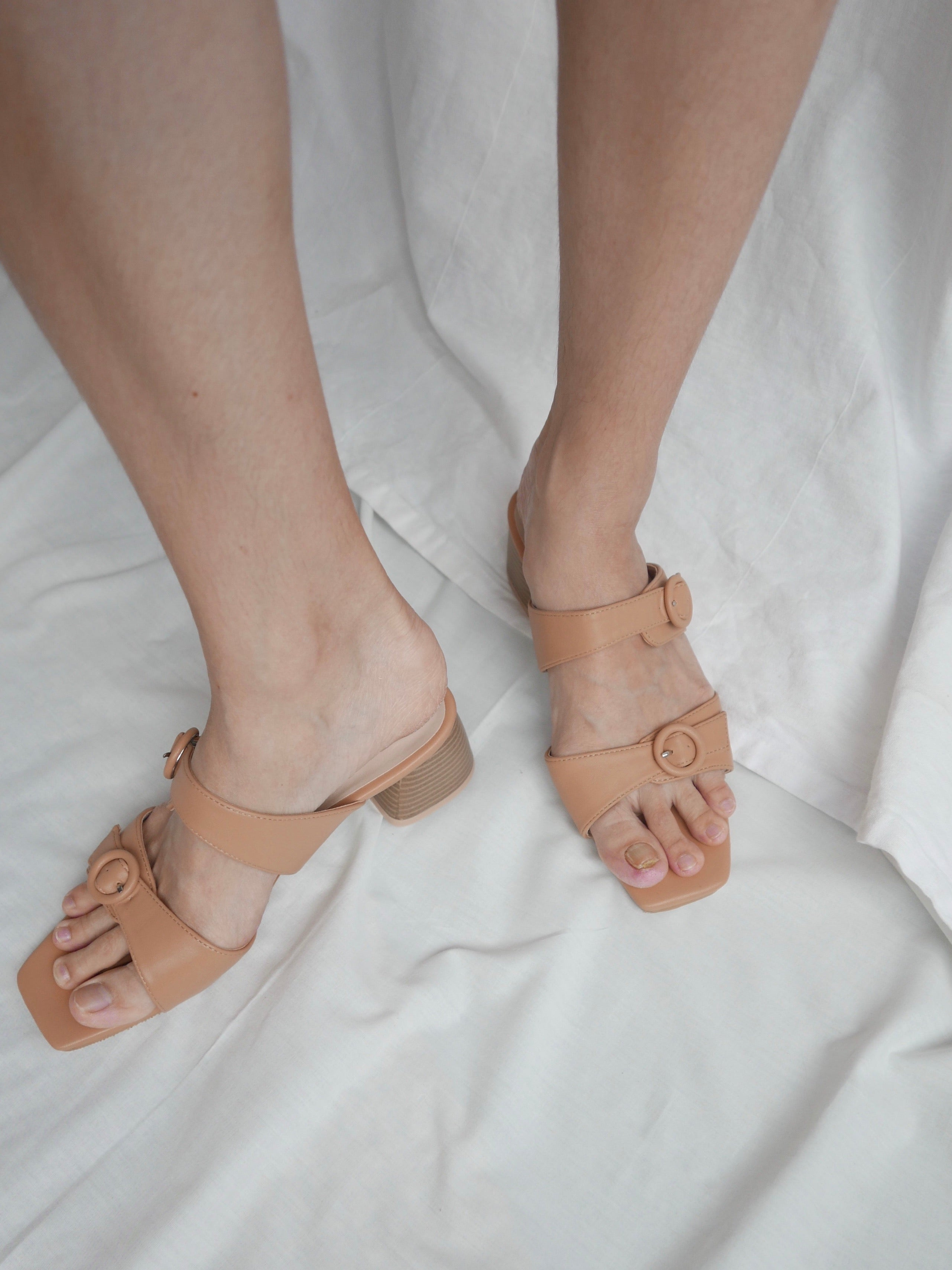 Lua Sandal - Biscuit
