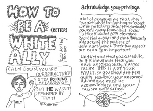How to be a (Better) White Ally by Ocean Gao