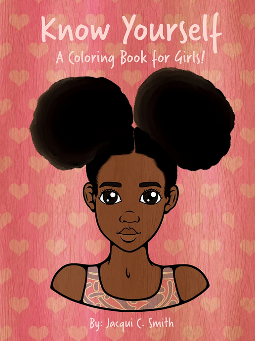Know Yourself: A Coloring Book for Kids (Pink)