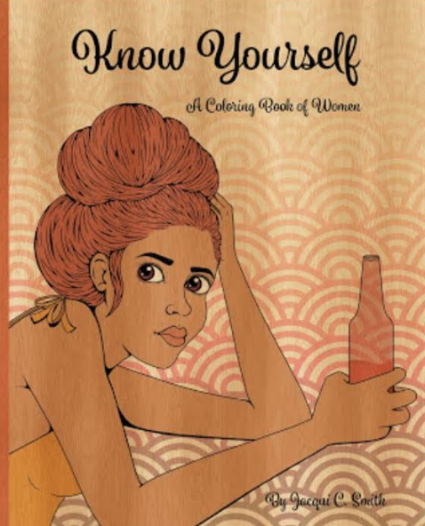 Know Yourself: A Coloring Book (Orange)
