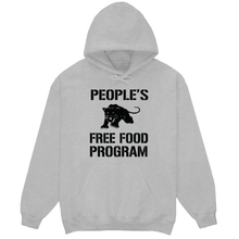 Load image into Gallery viewer, Panther's Free Food Program Hoodie (Grey)