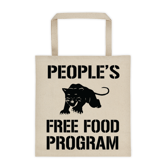 Panther's Free Food Program Tote