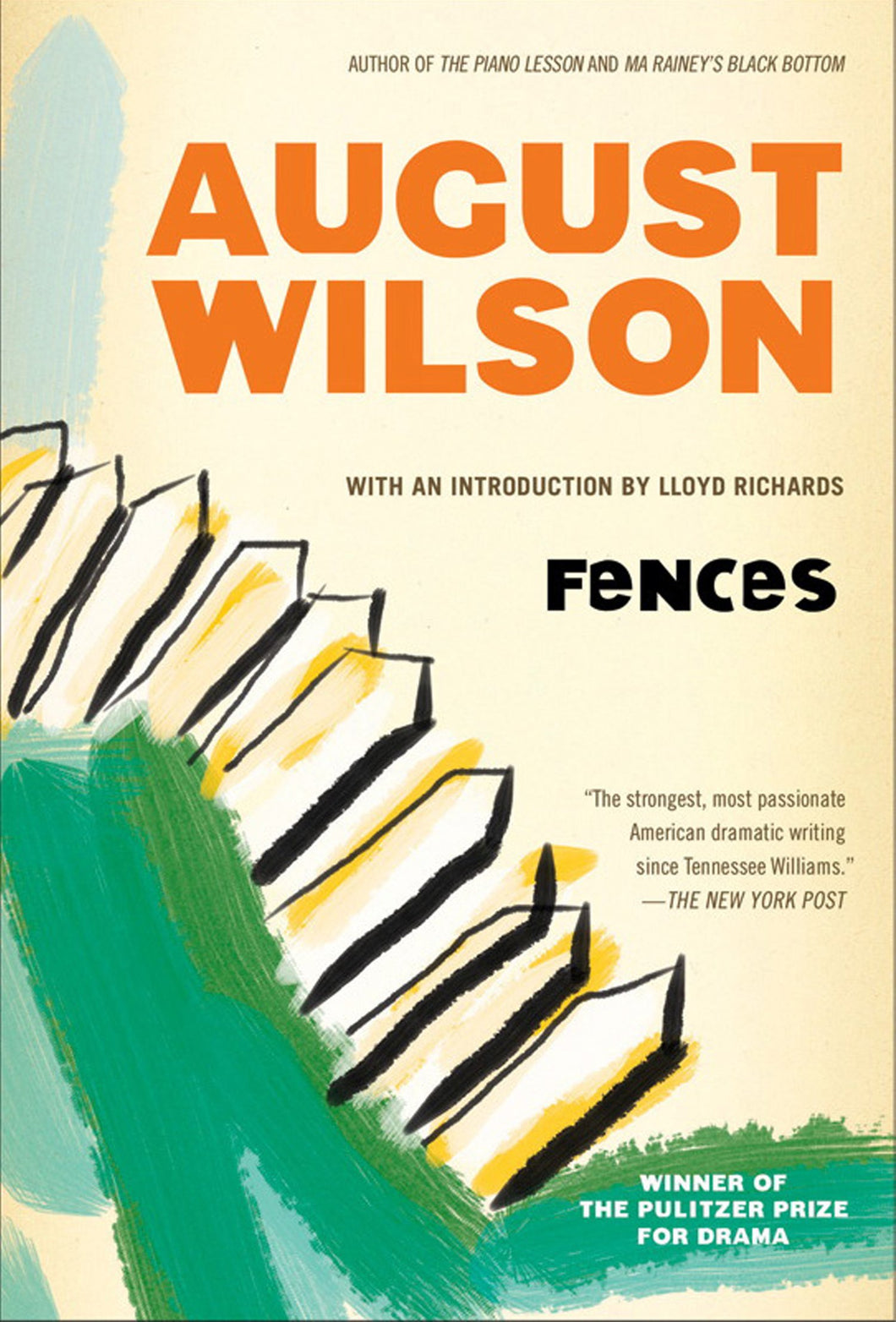 Fences: A Play by August Wilson
