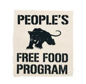 Panther's Free Food Program Patch