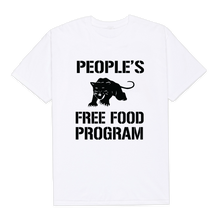 Load image into Gallery viewer, Panther's Free Food Program Shirt (white)