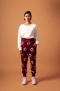 Ring Trackpants (Wine)