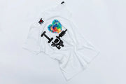 "I LOVE TATTOO T-SHIRT "" HERZ - WATERCOLOUR"", GIRLS - WHITE"