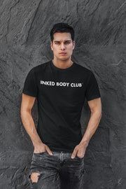 "I LOVE TATTOO T-SHIRT "" INKED BODY CLUB"", BOYS - BLACK"