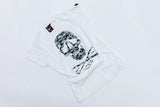 "I LOVE TATTOO T-SHIRT "" CAMOUFLAGE SKULL"", GIRLS - WHITE"