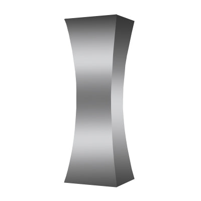 CONCAVE NICKEL COLUMN - Flair Home Collection