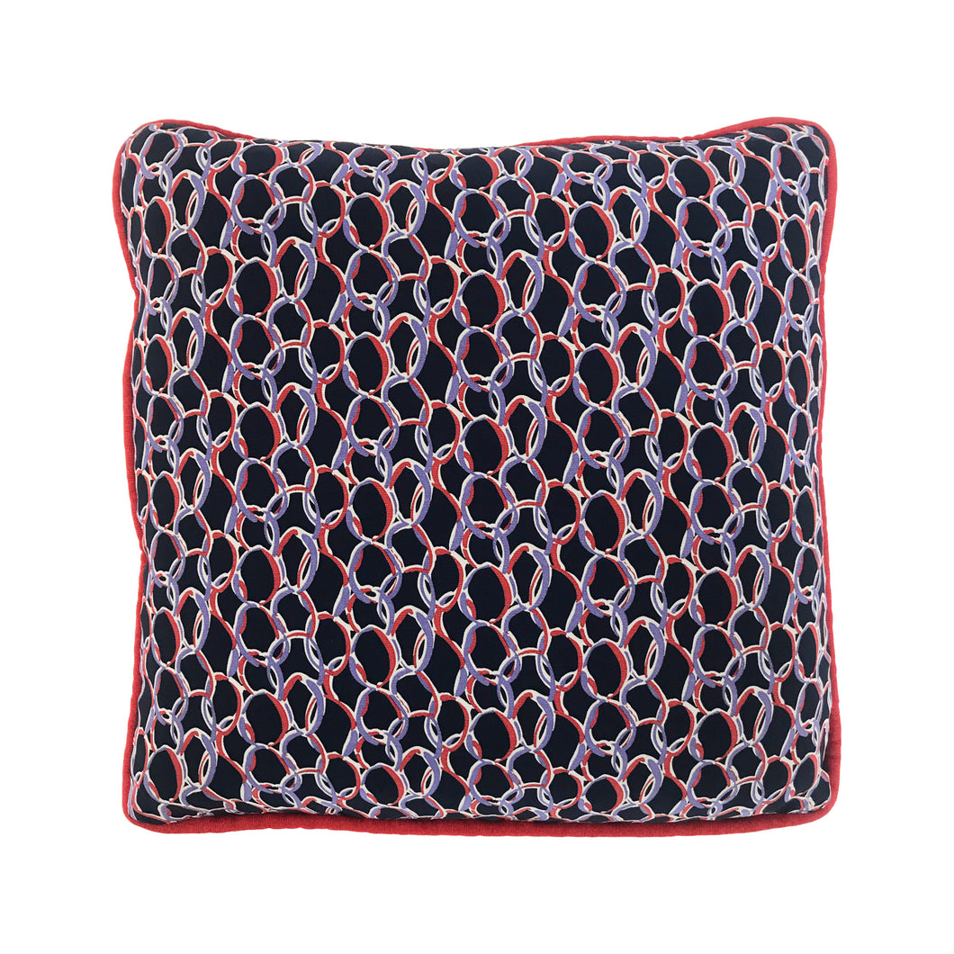 FLAIR HOME COLLECTION ABSTRACT PRINT PILLOW - Flair Home Collection