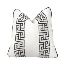 Load image into Gallery viewer, FLAIR HOME COLLECTION GEOMETRIC EMBROIDERED PILLOW - Flair Home Collection
