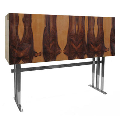 LACQUERED PALISANDER CABINET - Flair Home Collection