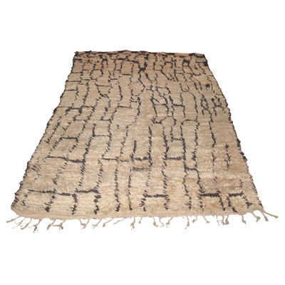 BENI OURIAN GRID PATTERN MOROCCAN RUG - Flair Home Collection