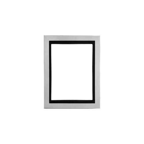 SMALL NOAH WALL MOUNTED NICKEL PICTURE FRAME - Flair Home Collection