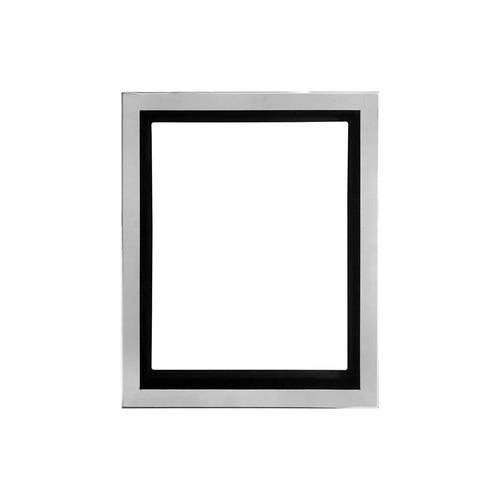 LARGE NOAH WALL MOUNTED NICKEL PICTURE FRAME - Flair Home Collection