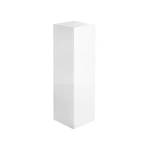 MEDIUM WHITE LACQUERED COLUMN - Flair Home Collection