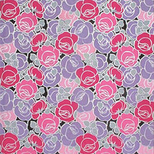 Load image into Gallery viewer, FRAMED 19TH CENTURY ROSE PATTERNED WALLPAPER PANEL - Flair Home Collection