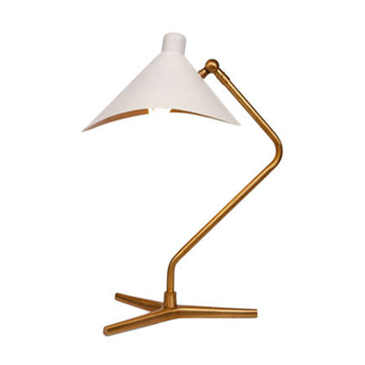 DINO TABLE LAMP WITH WHITE SHADE - Flair Home Collection