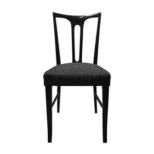 EBONIZED OCCASIONAL CHAIR - Flair Home Collection