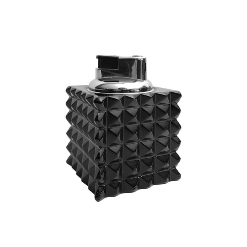SMALL ISTRICE BLACK CRYSTAL LIGHTER - Flair Home Collection