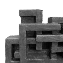 "Load image into Gallery viewer, ""LA CULEBRA"" WALL SCULPTURE IN GRAPHITE FINISH - Flair Home Collection"