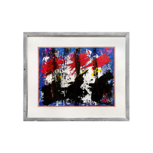 MID-CENTURY FRENCH ABSTRACT PAINTING - Flair Home Collection