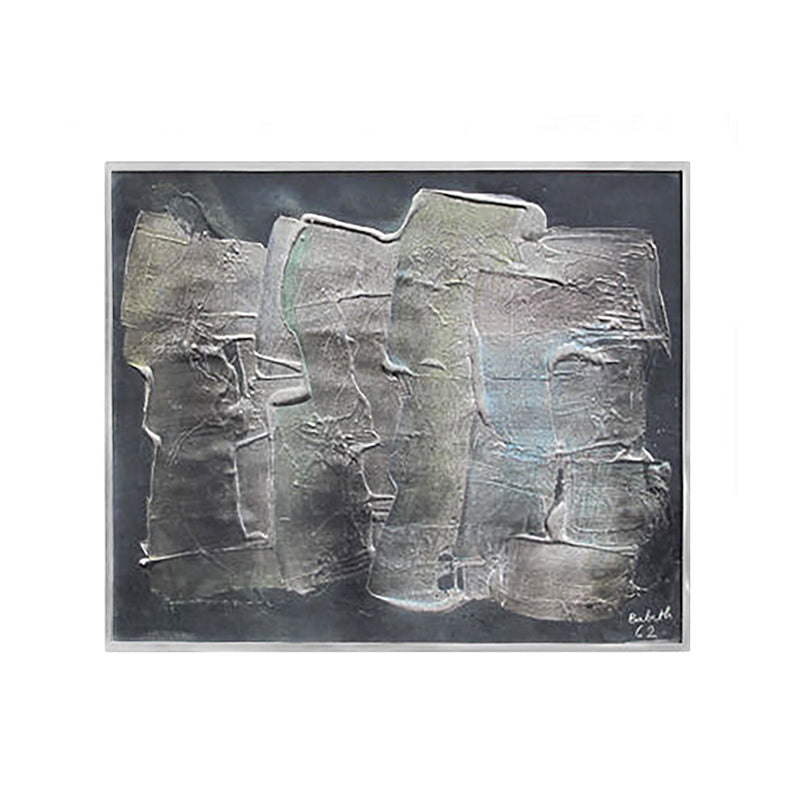 ABSTRACT BRUSHSTROKE RELIEF PAINTING - Flair Home Collection