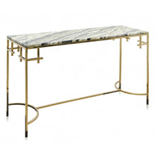 Load image into Gallery viewer, ANNA MARBLE TOP CONSOLE - Flair Home Collection