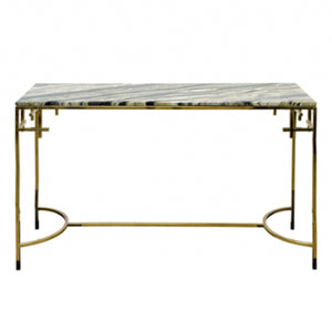 ANNA MARBLE TOP CONSOLE - Flair Home Collection