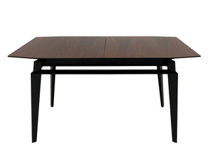 VINTAGE MIDCENTURY EXTENDABLE ROSEWOOD DINING TABLE BY VITTORIO DASSI - Flair Home Collection