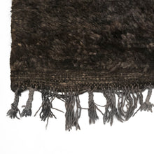 Load image into Gallery viewer, MOROCCAN RUG IN BLACK, BROWNS AND GRAYS - Flair Home Collection