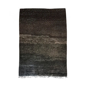 MOROCCAN RUG IN BLACK, BROWNS AND GRAYS - Flair Home Collection