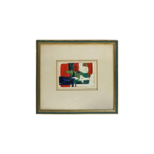 ABSTRACT LAID CANVAS OIL PAINTING - Flair Home Collection