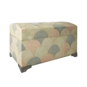 MAITLAND SMITH SCALLOPED SHAGREEN BOX - Flair Home Collection