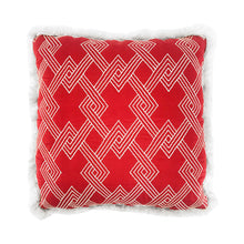Load image into Gallery viewer, FLAIR HOME COLLECTION EMBROIDERED GEOMETRIC PILLOW - Flair Home Collection