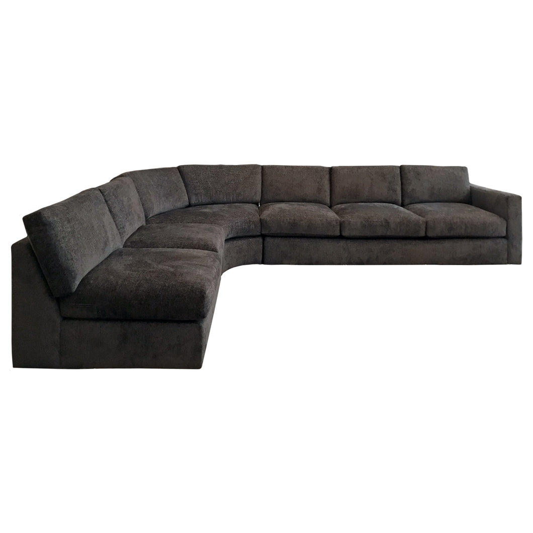 VINTAGE MILO BAUGHMAN SIGNED SECTIONAL SOFA - Flair Home Collection