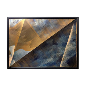 """PEAK"" MIXED MEDIA PAINTING BY JEFFREY FRANCIS BEARDSALL - Flair Home Collection"