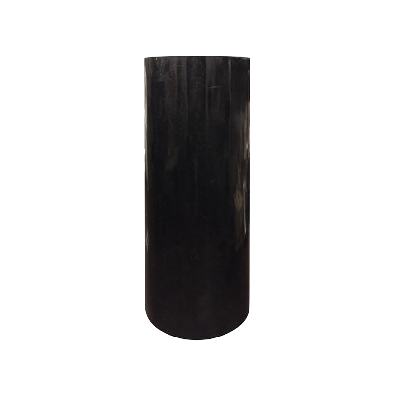 SHORT ROUND BLACK STONE COLUMN - Flair Home Collection
