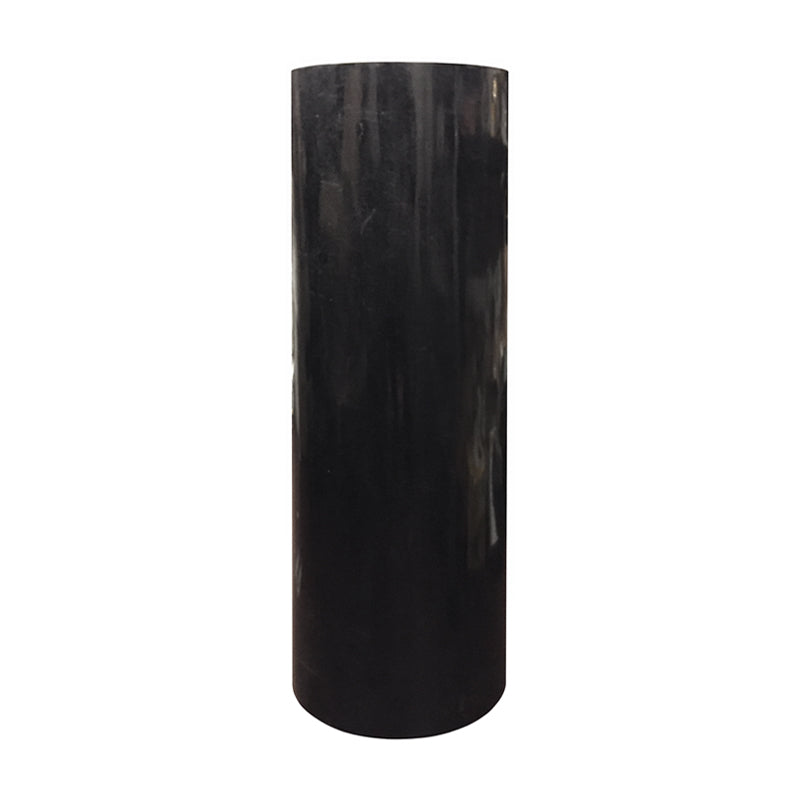 TALL ROUND BLACK STONE COLUMN - Flair Home Collection