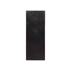 SHORT SQUARE BLACK STONE COLUMN - Flair Home Collection