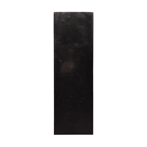 TALL SQUARE BLACK STONE COLUMN - Flair Home Collection