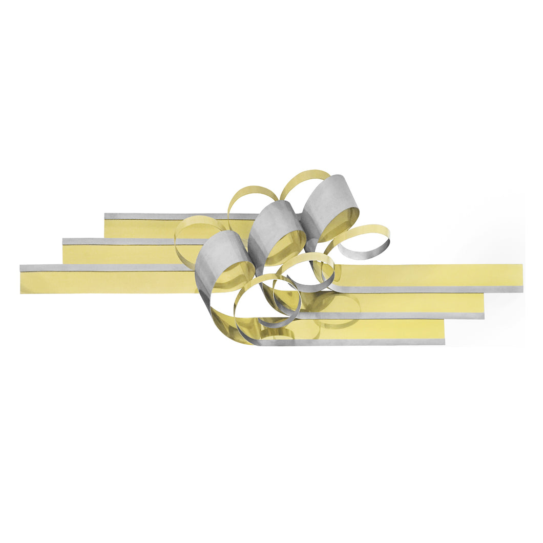 C. JERE METAL RIBBON WALL SCULPTURE - Flair Home Collection